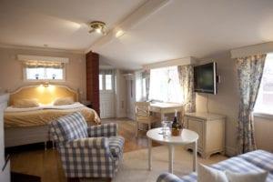 Bo kungligt på hotell i Tällberg